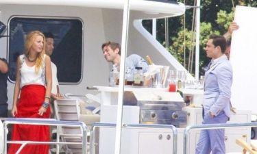 Gossip Girl: Γυρίσματα σε σκάφος