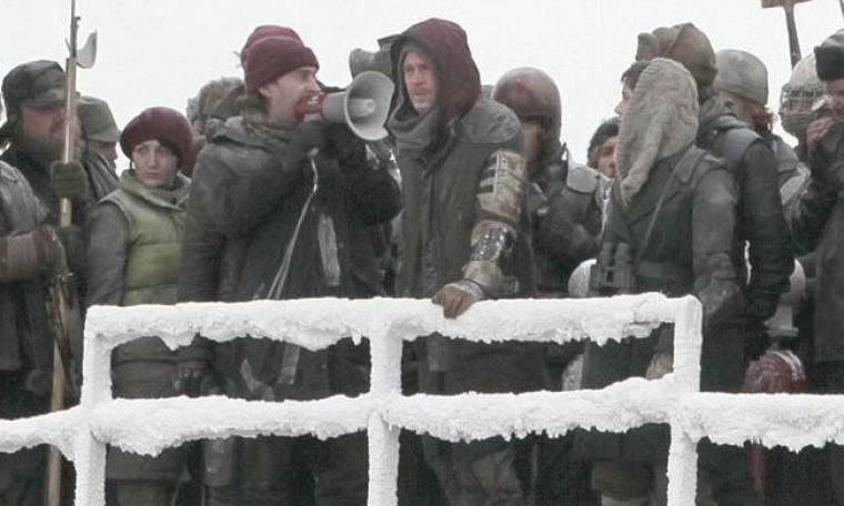 Ο Brad Pitt στα… χιόνια