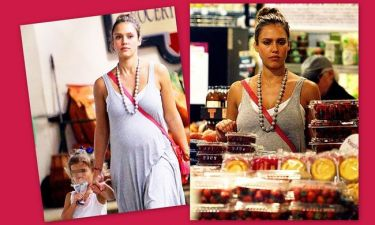 Jessica Alba: Για ψώνια στο σούπερ μάρκετ με την κόρη της