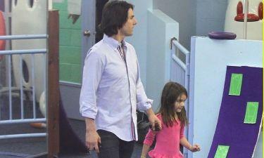 Ο Tom Cruise με την κόρη του στο γυμναστήριο! (φωτό)