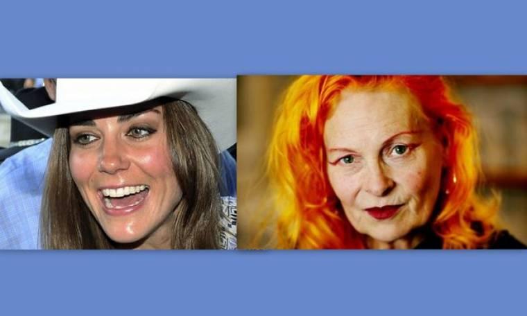 """Η Vivienne Westwood την """"είπε"""" στην Catherine Middleton"""
