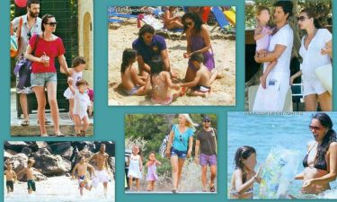 Οικογενειακές διακοπές των celebrities