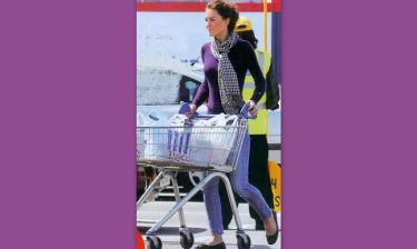 Κάθριν Μίντλετον: Στο σουπερμάρκετ για ψώνια