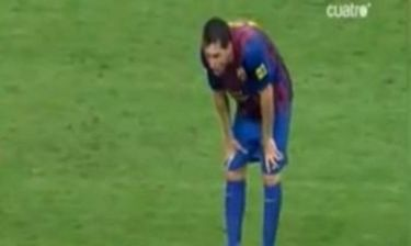 Video: Ο Λιονέλ Μέσι έκανε εμετό μέσα στο γήπεδο!