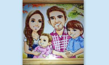 Η οικογένεια Κακά σε… καρτούν