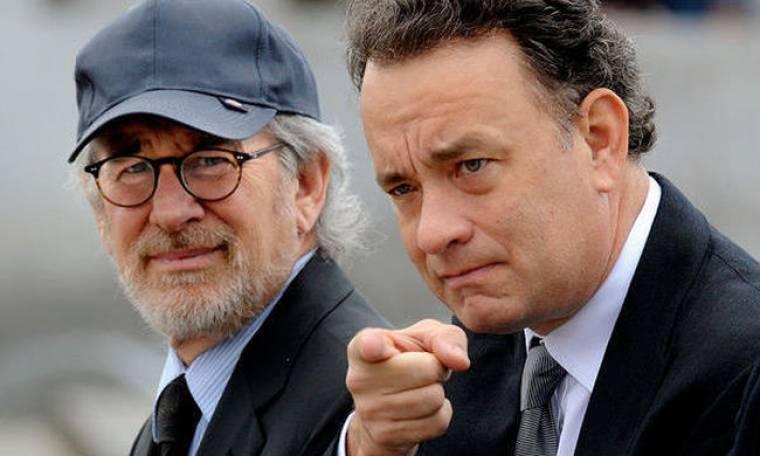 Ο Tom Hanks έκανε το τραπέζι στο Spielberg