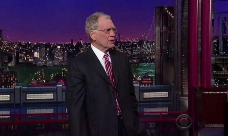 Ισλαμιστές απειλούν τον David Letterman;