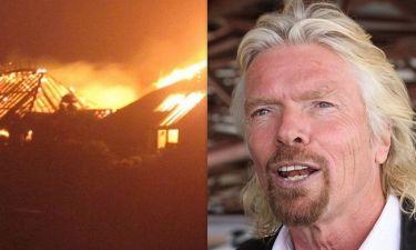 Φωτιά στο εξοχικό του Richard Branson