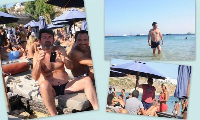 Γιάννης Λάτσιος: Νέες φωτογραφίες από τις διακοπές του στη Μύκονο