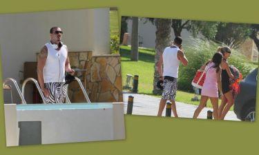 Νίκος Βουρλιώτης: Διακοπές με τη γυναίκα του στο Νησί των Ιπποτών