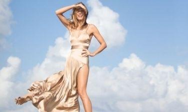 Η Heidi Klum φωτογραφίζεται για το νέο της άρωμα