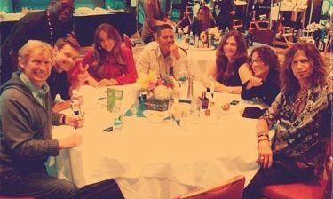 Jennifer Lopez: Σε δείπνο με τους συντελεστές του American Idol