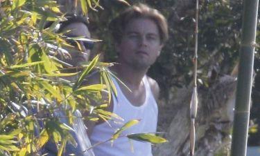 Leonardo DiCaprio: Χαλαρώνοντας εν μέσω γυρισμάτων