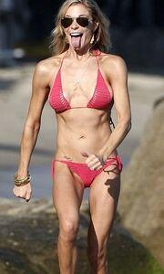 Η LeAnn Rimes γιόρτασε στην παραλία τα γενέθλιά της