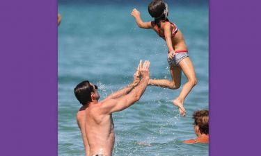 Ο Hugh Jackman προπονείται με την… κόρη του