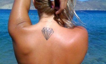 Σε ποιο «καυτό» μοντέλο ανήκει αυτό το tattoo;