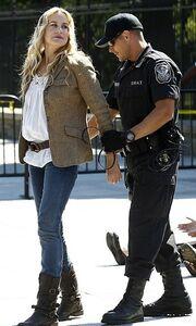 Daryl Hannah: Συνελήφθη έξω από το Λευκό Οίκο