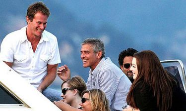George Clooney: Στο Κόμο με τους διάσημους φίλους του