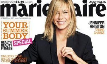 Η Jennifer Aniston στο Marie Claire
