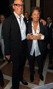 Ο Al Pacino το διασκεδάζει στη Βενετία