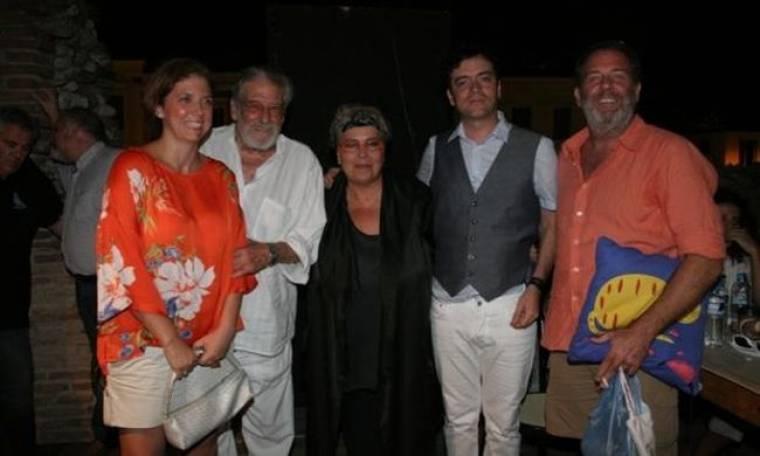 Γαλάνη - Βασιλικός: Night out μετά τη συναυλία στην Πάτρα
