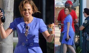 Jennifer Lopez: Διασκεδάζει στα πλατό του Parker