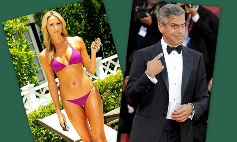 George Clooney: Ακόμη με την Stacey Keibler
