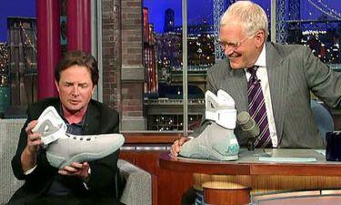 Σε δημοπρασία τα παπούτσι του Michael J Fox από το Back To Future