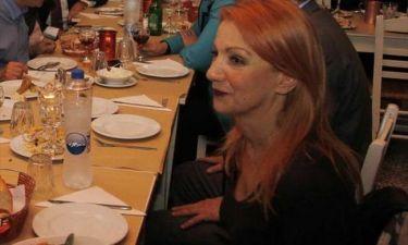VIDEO: Γιούχαραν την Πέμυ Ζούνη σε ταβέρνα