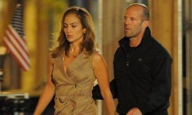 Jennifer Lopez και Jason Statham στα γυρίσματα του Parker