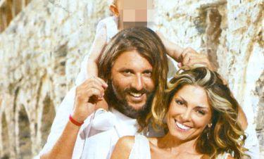 Λάσπα-Νικολόπουλος: Photos απο τη βάπτιση της κόρης τους