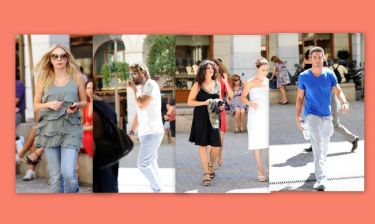 Celebrities walking στην… Βουκουρεστίου!