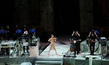 Μάγεψε η Βανέσα Μέι στο Ηρώδειο! (φωτό)