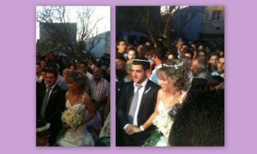 Οι πρώτες φωτογραφίες από τον γάμο του Φουκάκη