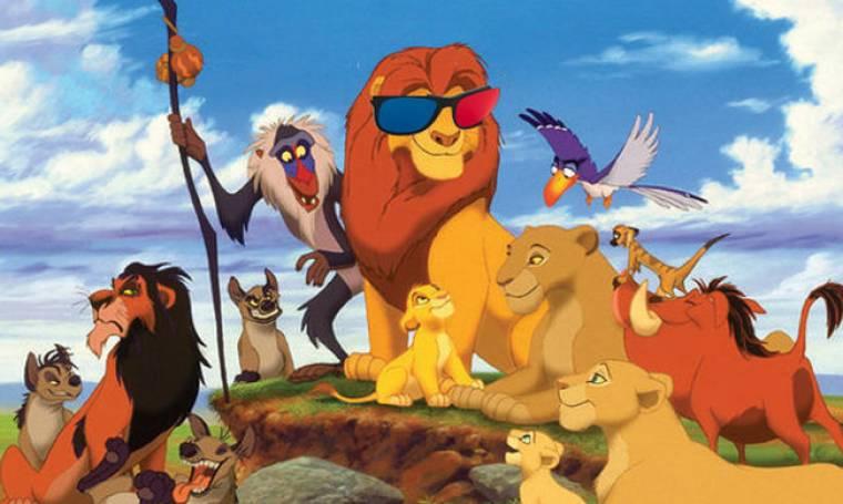 Ο 3D Βασιλιάς των Λιονταριών πρώτος στο Box Office