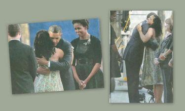 Μια Ελληνίδα έκλαψε στην αγκαλιά του Ομπάμα
