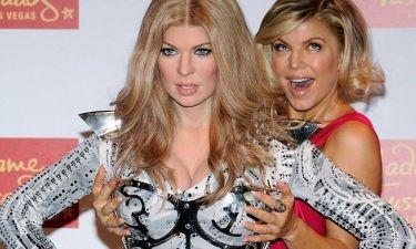 Η Fergie διασκεδάζει με το κέρινο ομοίωμά της