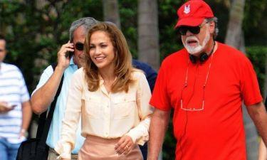 Jennifer Lopez: Με τον Taylor Hackford στα γυρίσματα