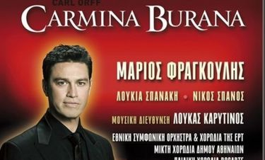 Carmina Burana με τον Μάριο Φραγκούλη στο Ηρώδειο