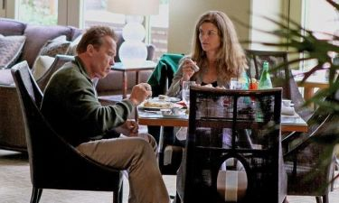 Arnold Schwarzenegger και Maria Shriver μαζί σε γεύμα