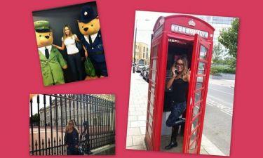 Οι βόλτες της Χρύσας Δρακάκη στο Λονδίνο