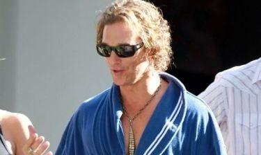 Matthew McConaughey: Έτοιμος να τα… βγάλει όλα στη νέα του ταινία
