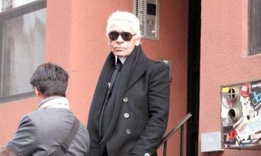Στο «σφυρί» το σπίτι του Karl Lagerfeld
