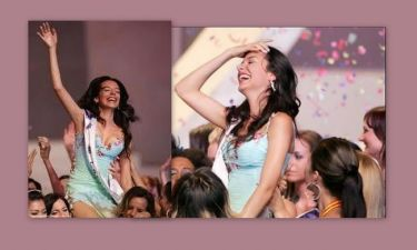 Όταν η Νικολέτα Ράλλη είχε κερδίσει σε διεθνή διαγωνισμό ομορφιάς! (φωτό)