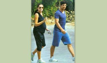 Ρουβάς-Ζυγούλη: Χαλαρή βόλτα με αθλητικά παπούτσια και sportswear