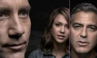 Video: George Clooney και Jessica Alba σε σποτ για την πείνα