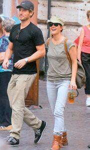 Drew Barrymore-Will Kopelman: Ρομαντικό ταξίδι στη Ρώμη