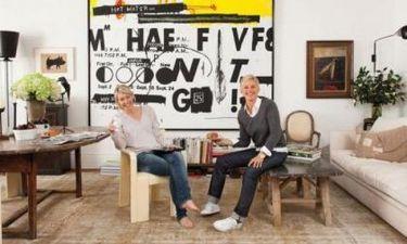 Η Ellen DeGeneres φωτογραφίζεται στο σπίτι που θα… πουλήσει