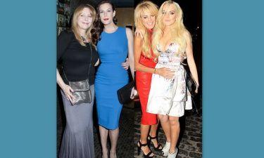 Επίθεση στη Dina Lohan από τη… μαμά της Liv Tyler