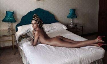 Η Miranda Kerr γυμνή στο Harper's Bazaar